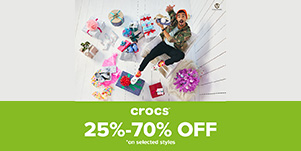Crocs Winter Sale