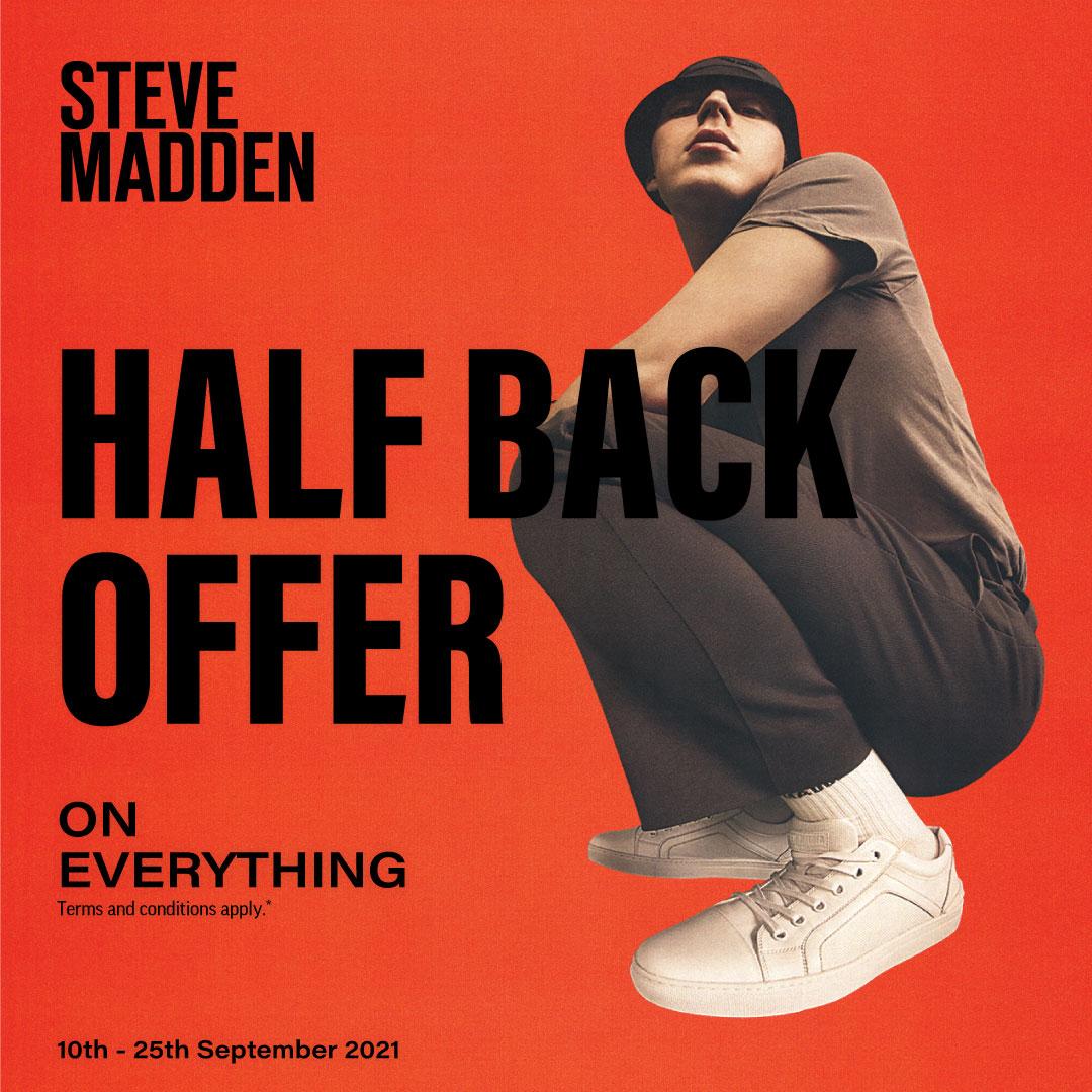 Half Back at Steve Madden!