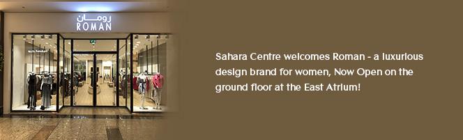 Sahara Centre welcomes Roman