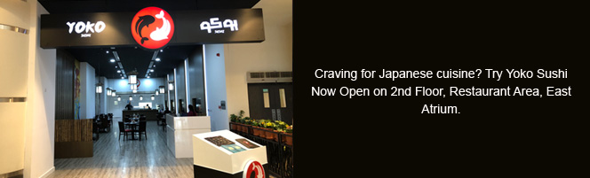 Craving for Japanese cuisine?