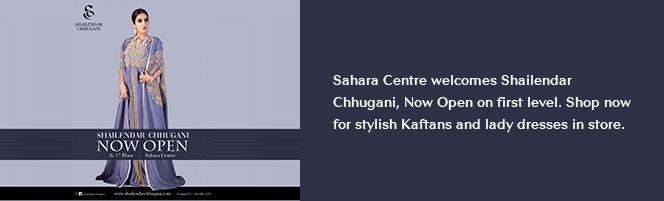 Sahara Centre welcomes Shailendar Chhugani