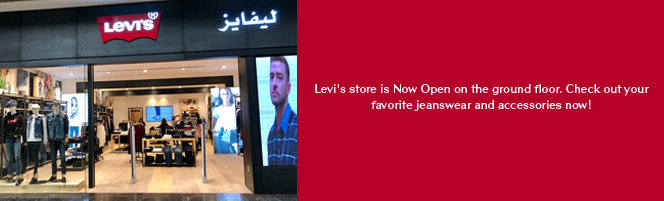 Levi's store is Now Open on the ground floor