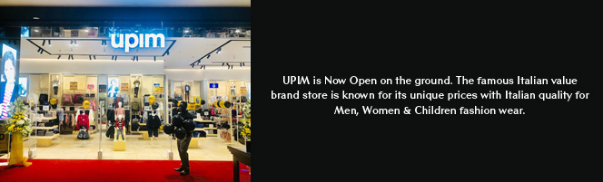 UPIM is Now Open on the ground!