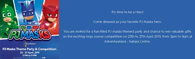 Come dressed as your favorite PJ Masks hero!