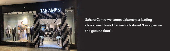 Sahara Centre welcomes Jakamen, a leading classic wear brand for men's fashion!