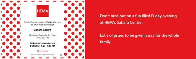 Fun-filled Friday evening at HEMA, Sahara Centre