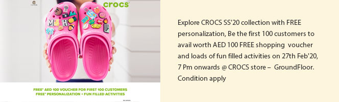 CROCS SS/20 collection with FREE personalization