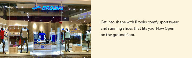 Get into shape with Brooks
