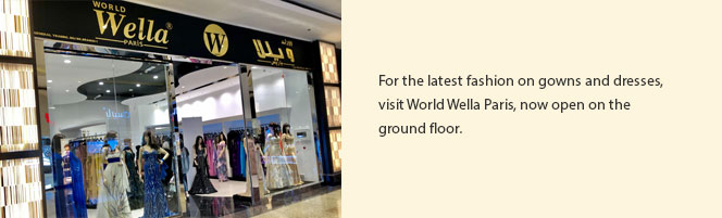 World Wella Paris is now open!