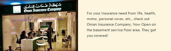 Oman Insurance Company is Now Open