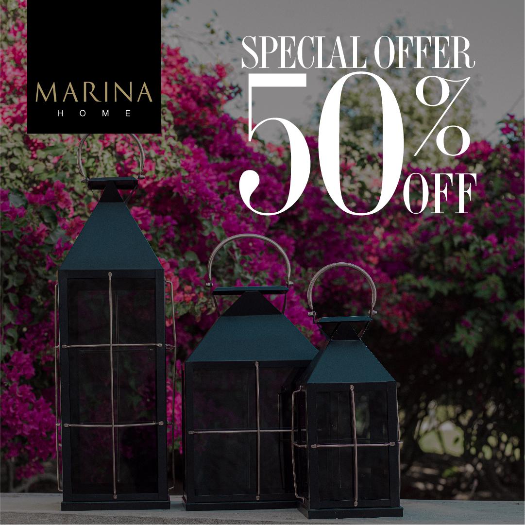 50% Off at Marina Home