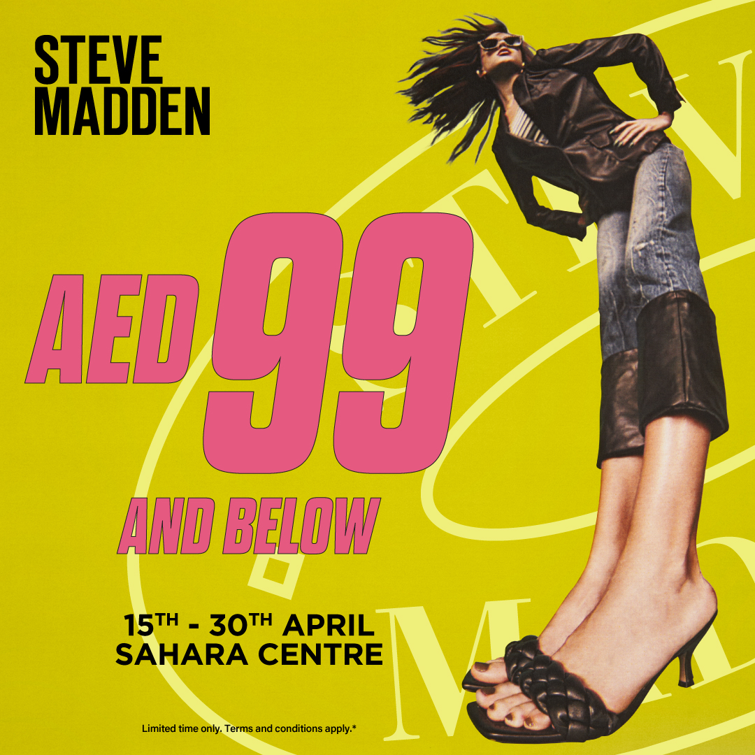Shoes & accessories @ AED 99 & below