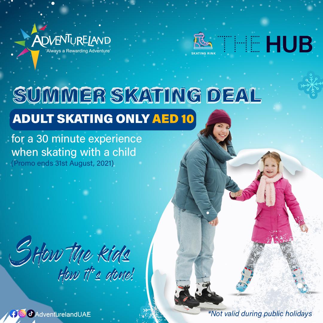 Summer Skating Deal at The HUB