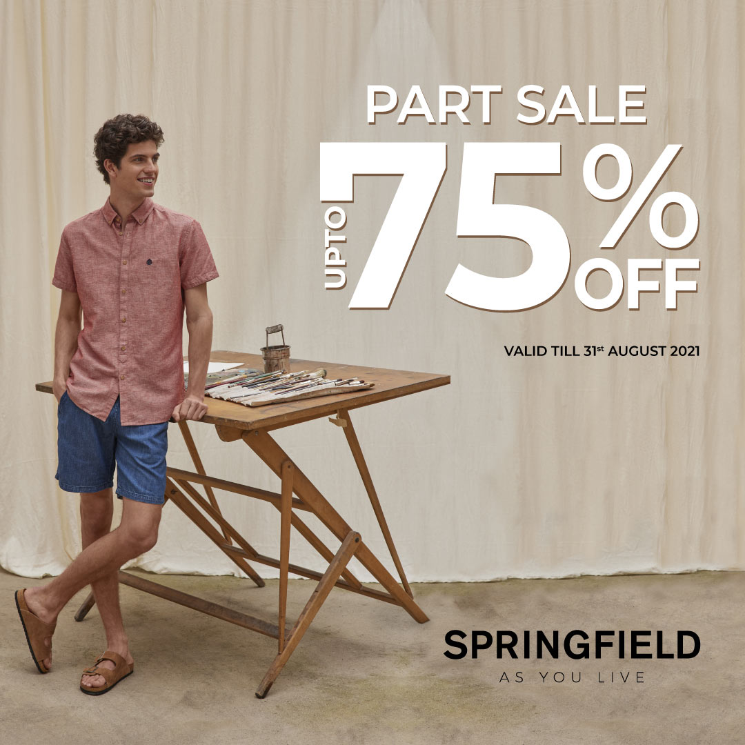 Up to 75% Off at Springfield