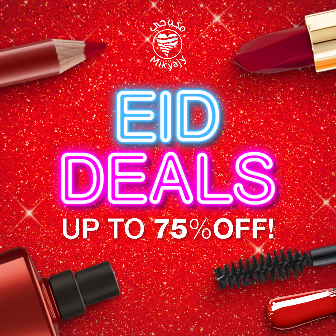 Eid Deals up to 75% Off at Mikyajy