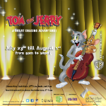 Tom & Jerry Entertain Little Ones at Sahara Centre