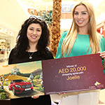 Sahara Centre announces the lucky winner of an AED 40,000