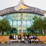 Sahara Centre partners with Emirates Red Crescent to welcome orphans on World Orphans Day