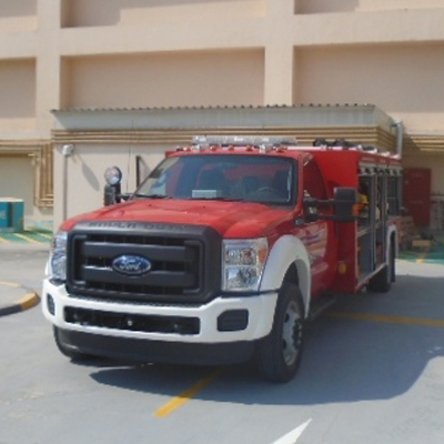 Sahara Centre's First Dedicated Firefighting Truck Unveiled in Sharjah