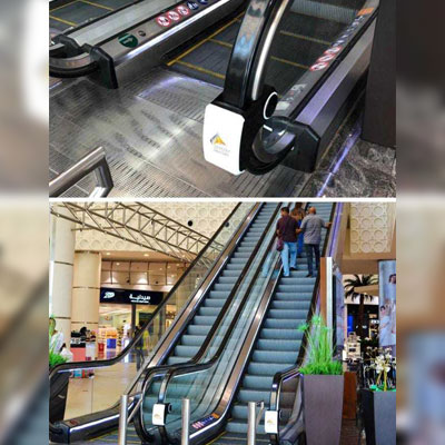 Sahara Centre emphasizes customer well-being, introduces  escalator handrail UV sterilizers